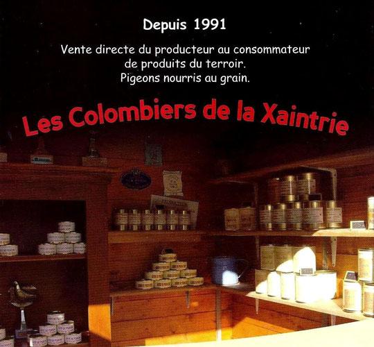 Les Colombiers de Xaintrie Didier Breuil