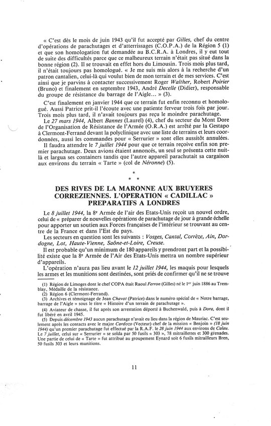 14 Juillet 1944 : Une date fatidique au Vercors . Image