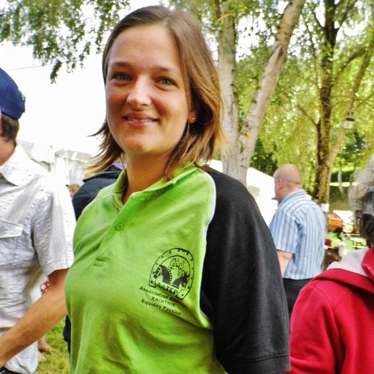 Aurélie Mouret, Championne de France de Reining 2013