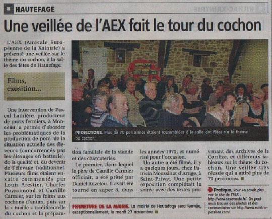 Merci madame Lacouture pour l'article