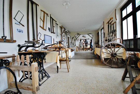Exposition de l'Herminette à Pléaux (15)