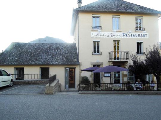 Martina Kömpel, restaurant, à Servières-le-Château, Les Contes de Bruyères