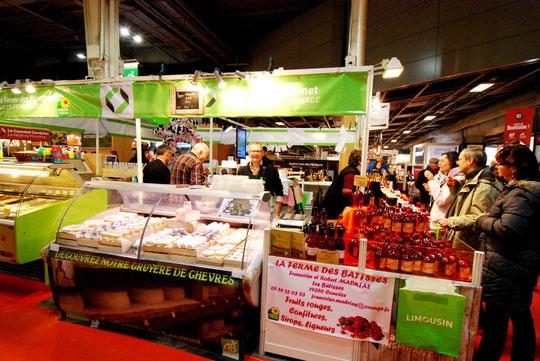 Salon de l'Agriculture 2015 Ferme du LECONET