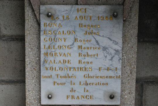 Mémorial du Lioran