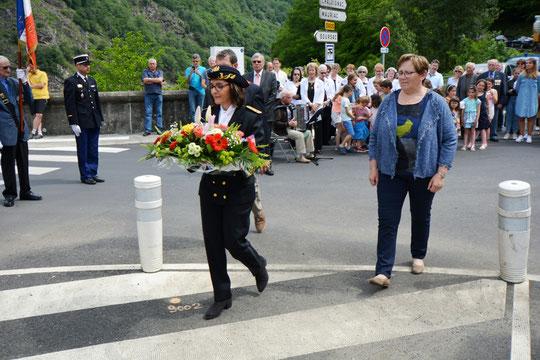 Madame Nathalie Guillot-Juin, sous-préfet de l'arrondissement de Mauriac