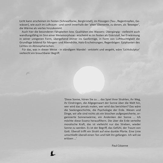 aus: 'Epiphanien des Lichtes'