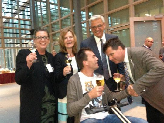 Gabriele Bayer, Frau Hüppe, Herr Hüppe, Oliver Fleiner