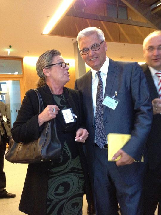 Gabriele Bayer Fa. frankie mit Hubert Hüppe