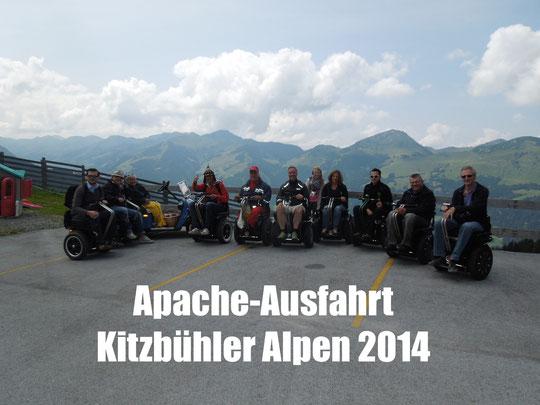 Elektro-Rollstuhl-Segway Apache Kitzbühler Alpen Ausfahrt