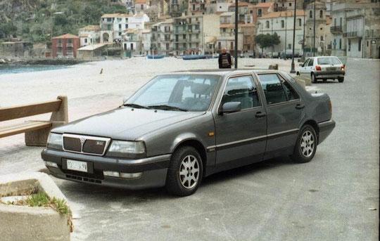 """La mia """"EX"""" belva Lancia Thema 16 v LS oltre 220 KMh"""