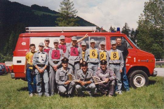 Die Jugendgruppe 2001 in Ratschings