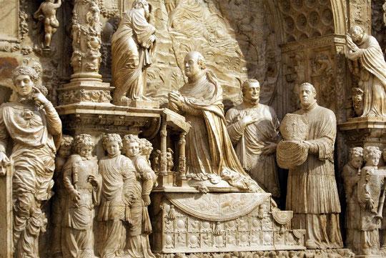 Cenotafio de Gutierre de Vargas, Obispo de Plasencia