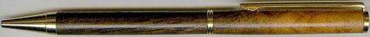 Drehkugelschreiber aus Mooreiche