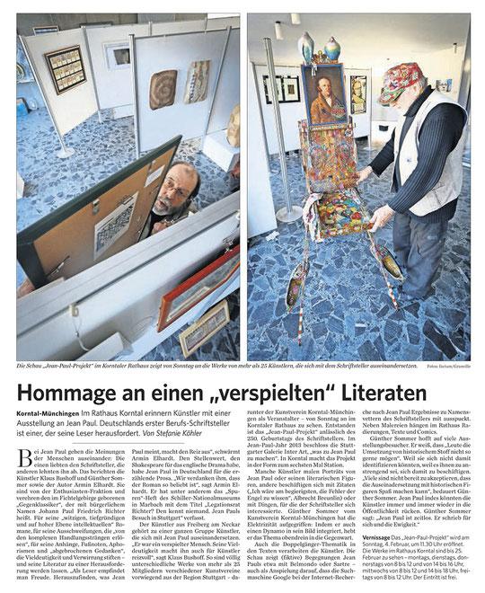 Stuttgarter Zeitung/Strohgäu Extra 30.01.2018