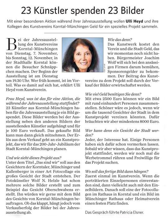 Stuttgarter Zeitung / Strohgäu Extra 03.11.2017