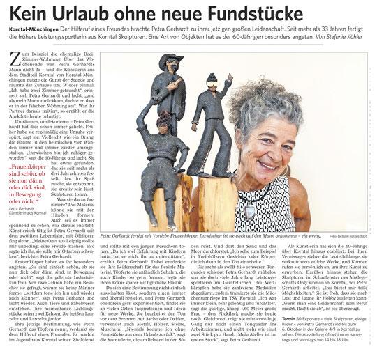 Strohgäu Zeitung  20.09.2019