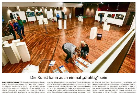 Strohgäu Zeitung  05.11.2019