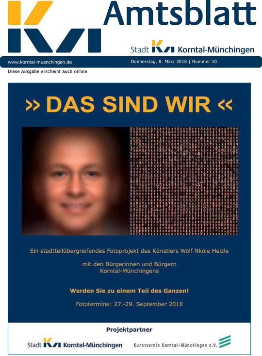 Amtsblatt Korntal-Münchingen 09.03.2018
