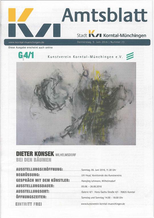 Amtsblatt Korntal-Münchingen 09.06.2016