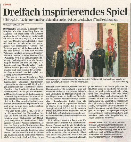 Ludwigsburger Kreiszeitung  01.12.2018