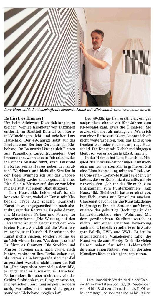 Strohgäu Zeitung  16.09.2020