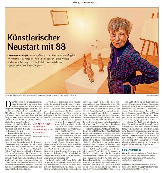 Stuttgarter Zeitung / Strohgäu Extra 08.10.2018