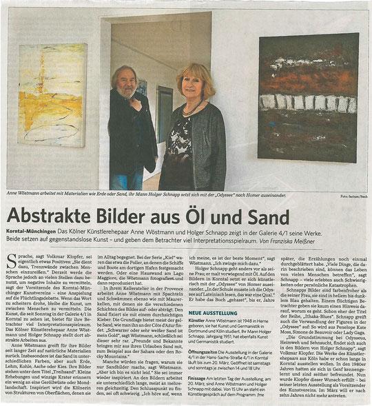 Stuttgarter Zeitung / Strohgäu-Extra 29.02.2016