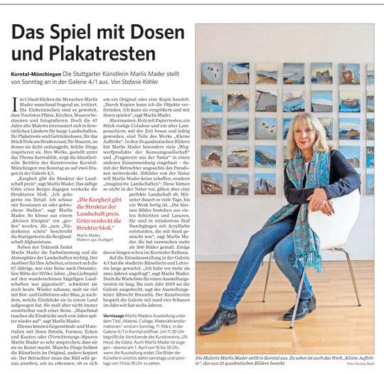 Stuttgarter Zeitung / Strohgäu Extra 09.03.2018