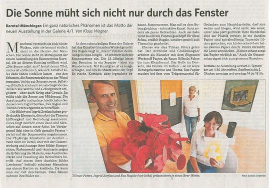 Stuttgarter Zeitung/Strohgäu Extra 10.09.2016
