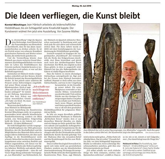 Stuttgarter Zeitung/Strohgäu Extra  18. Juni 2018