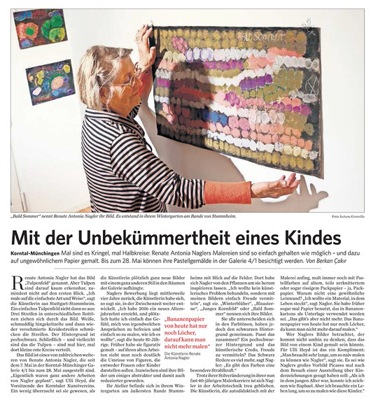 Stuttgarter Zeitung/Strohgäu Aktuell 09.05.2017