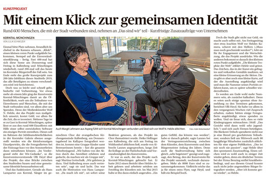 Ludwigsburger Kreiszeitung 28.09.2018