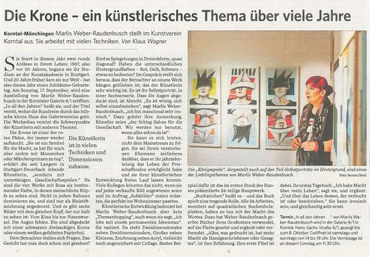 Stuttgarter Zeitung/Strohgäu Extra 15.09.2017