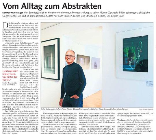 Stuttgarter Zeitung / Strohgäu Extra 31.03.2017