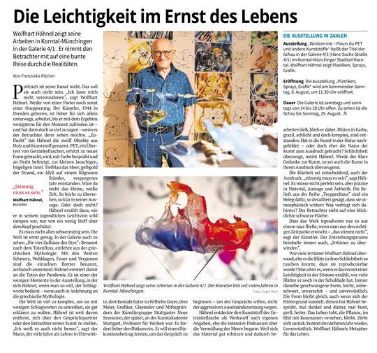 Stuttgarter Zeitung / Strohgäu Zeitung 04.08.2021