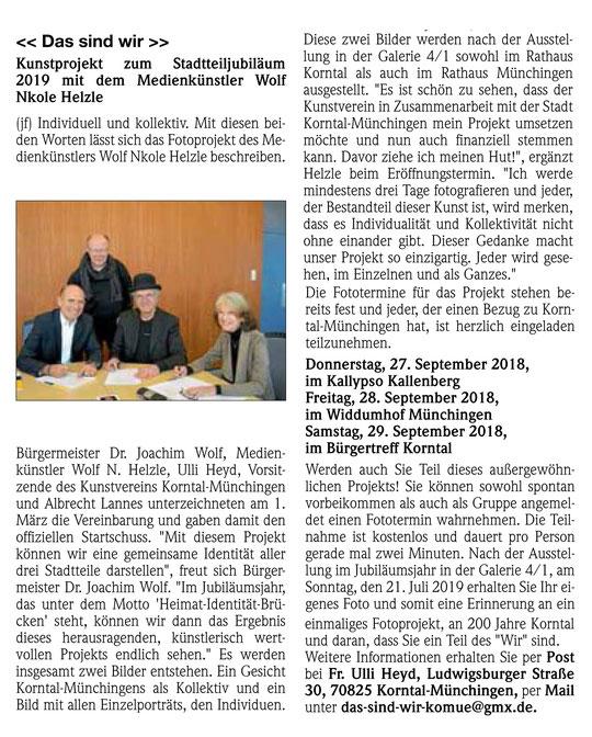 Stuttgarter Zeitung 08.03.2018