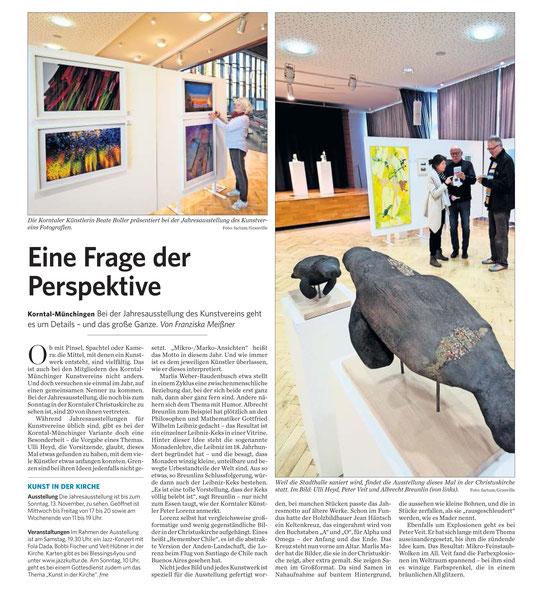 Stuttgarter Zeitung / Strohgäu Extra 9.11.2016