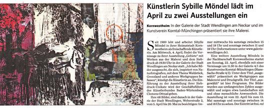 Kornwestheimer Zeitung  27.03.2018