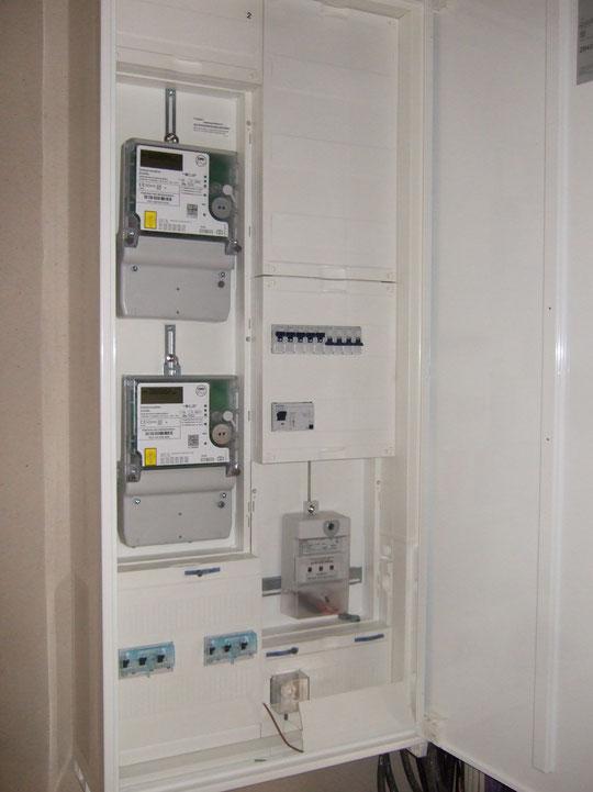 Zwei Stromzähler haben wir mittlerweile auch (1xWärmepumpe, 1xHaus)