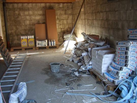 Lagerstätte Garage