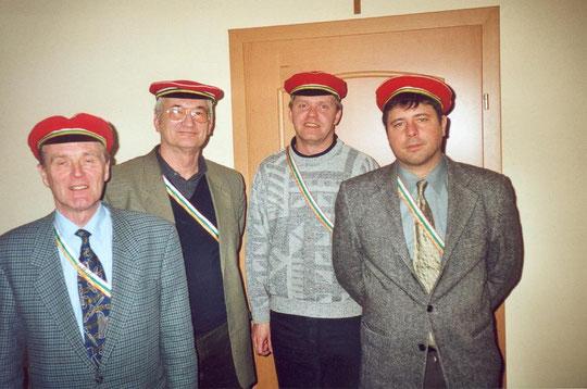 Phxx Dr. Manfred Schilder, Phx DI Wolfgang Kwasnitschka, Phxxx DI Martin Schwarz, Phxxxx Mag. Christian Bauer