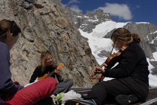 """Les """"Croq'notes d'altitude"""" sur la DZ du Promontoire."""