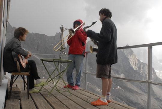 C'était hier après midi au Promontoire, avant l'orage...