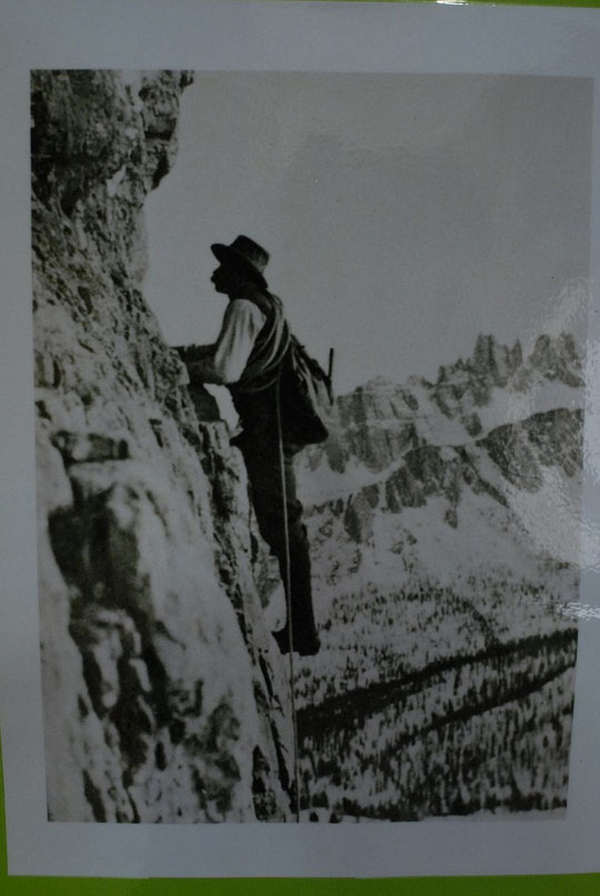 Angelo Dibona, il y a un siècle...