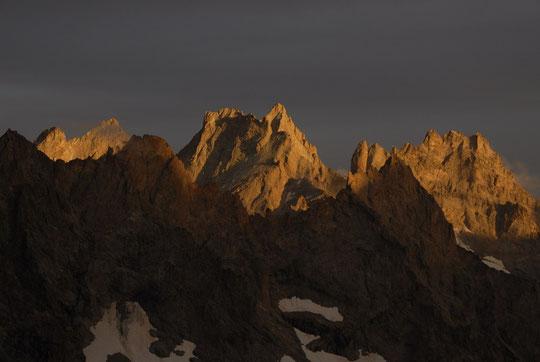 Couleurs du soir, depuis le Promontoire, ce 4 septembre 2010.