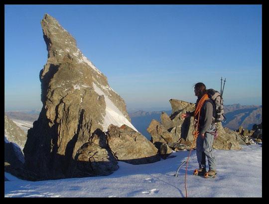La Meije, Le Doigt de Dieu 3973 m