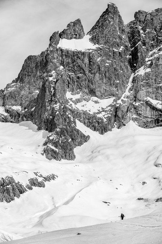 La Vallon des Etançons, le Promontoire et la face sud de la Meije vu par Alexandre Buisse. Un grand merci à lui !