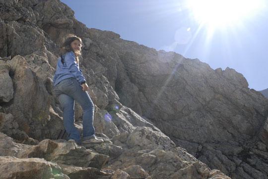 Les enfants ont retrouvé, le rocher de la Meije, le soleil de l'Oisans...