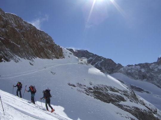 Tour de la Meije : bienvenue au Promontoire ! (photo Claudie Clerc)