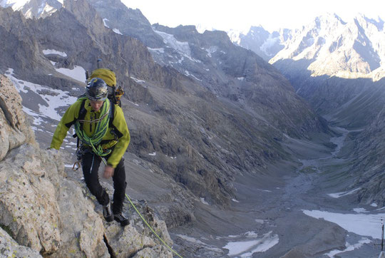 C'était le 6 août dernier au départ du Promontoire . Hier Yoann (19 ans) nous a rappelé super content après 17 jours de traversée par les sommets jusqu'au Mont Joly (voir le billet du lundi 6 août à 23h).